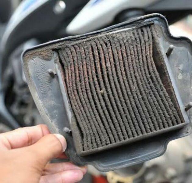Filter udara yang kotor mempengaruhi kinerja mesin