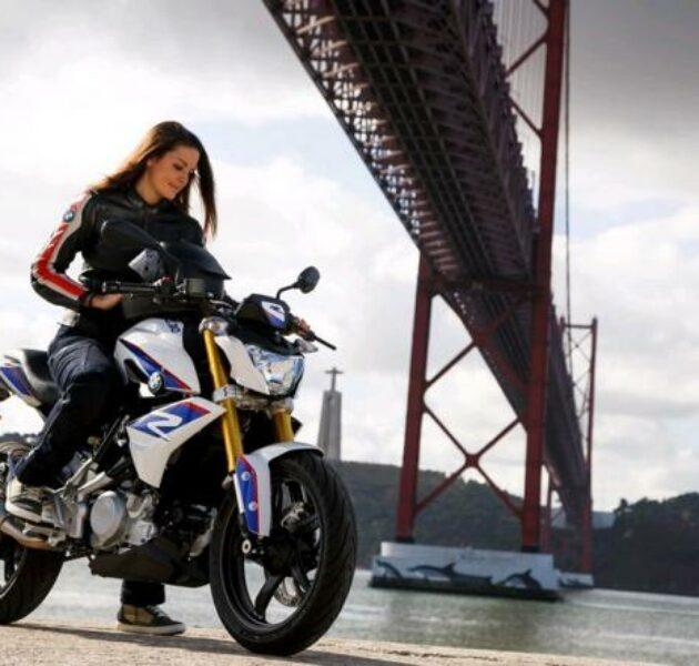 Motor besarpun cocok untuk wanita agar terlihat lebih sexy