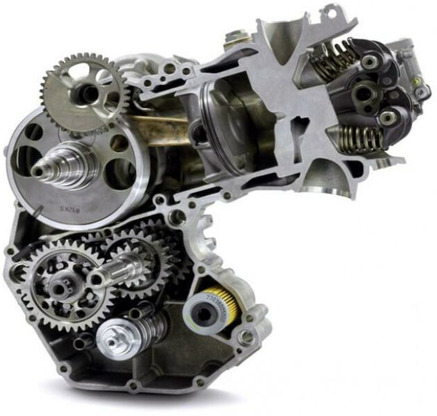 Cara Mudah Membersihkan Mesin Motor - mesin motor bebek