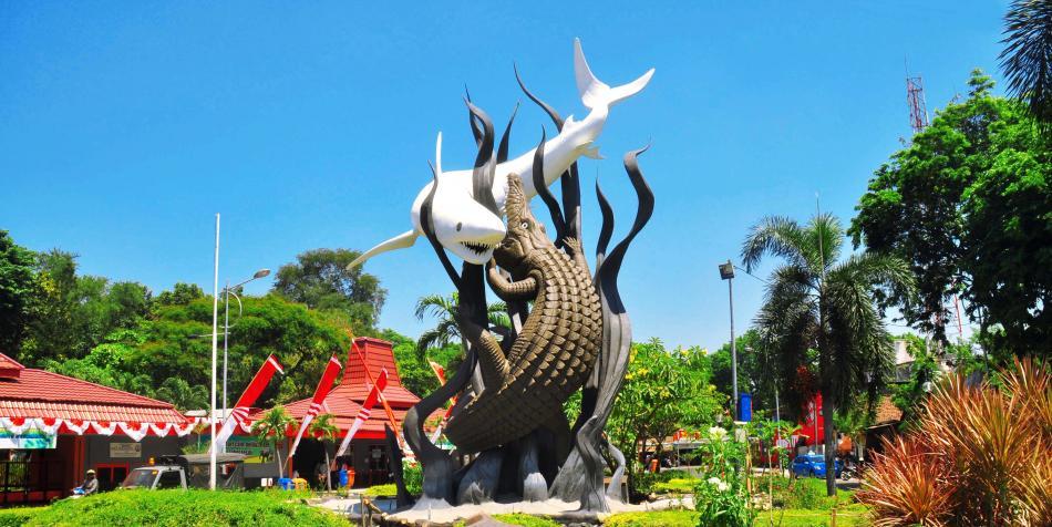 Patung Sura Dan Baya, Ikon Kota Surabaya