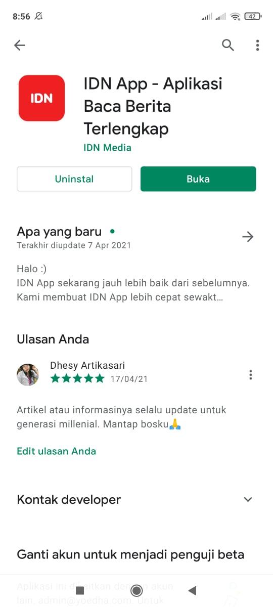 Idn App Review