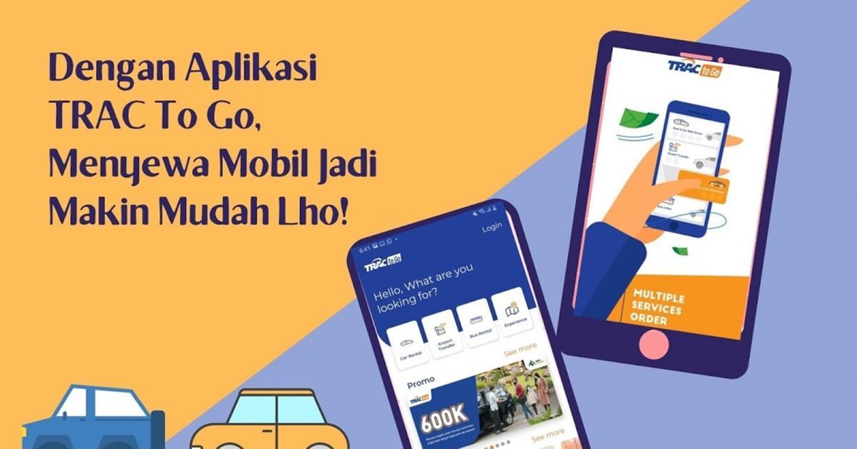 Aplikasi Sewa Mobil Trac To Go