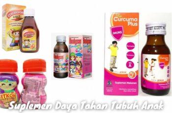 5 Rekomendasi Suplemen Daya Tahan Tubuh Anak