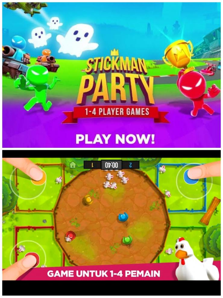 Stickman Party Mod Apk Fitur Tak Terbatas